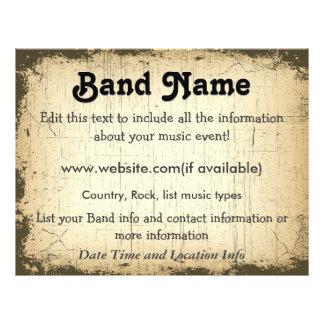 Custom Grunge Band Flyer