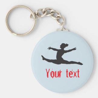 Custom Gymnastics Dance Cheer Keychains