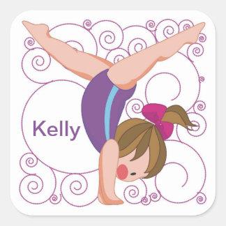 Custom Gymnastics Stickers