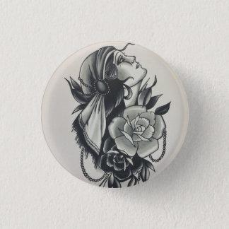 custom gypsy girl button