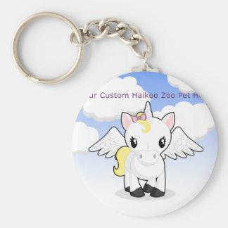 Custom Haikoo Zoo Keychain