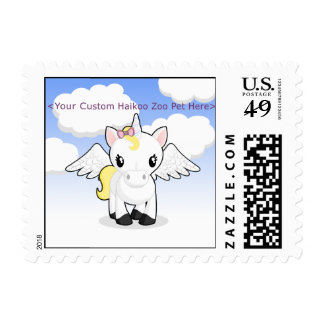 Custom Haikoo Zoo Postage Stamps