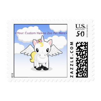 Custom Haikoo Zoo Postage Stamps