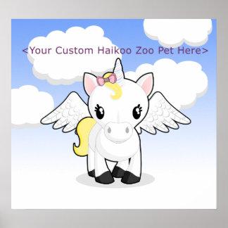 Custom Haikoo Zoo Poster
