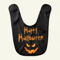 Custom Halloween Baby Bib