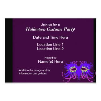 Custom Halloween Costume Party Invites