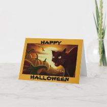 CUSTOM HALLOWEEN GREETING CARDS
