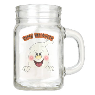 Custom Halloween Mason Jar