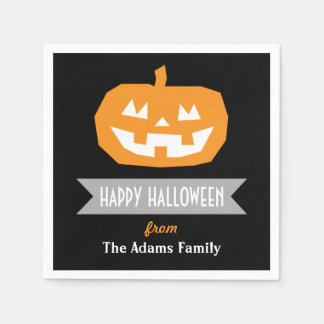 Halloween Party Paper Napkins