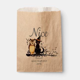 Custom Halloween Naughty or Nice Favor Bag - Nice