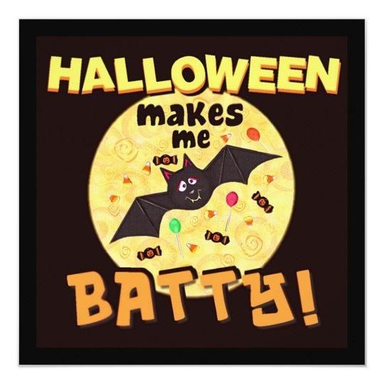 Custom Halloween Party Invitation