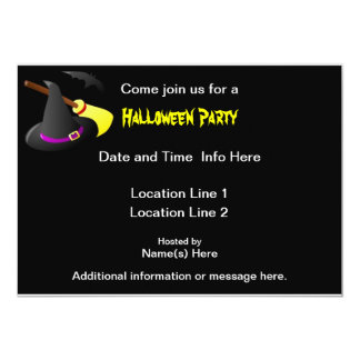 Custom Halloween Party Invites