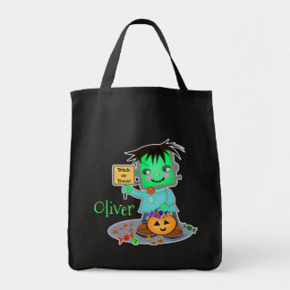 Custom Halloween Trick or Treat Candy Bag