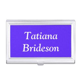 Custom Han Purple High End Color Coordinating Business Card Holder
