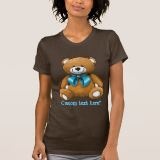 Custom hand painted teddy bear gift t-shirt