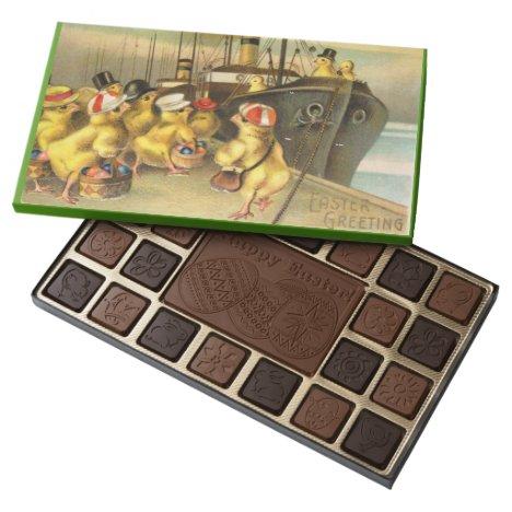 Custom HAPPY EASTER 45 Piece Assortment Assorted Chocolates