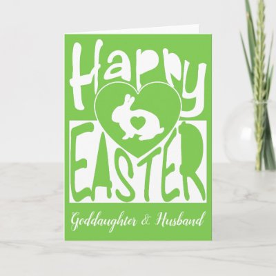 Happy easter goddaughter card zazzle negle Gallery