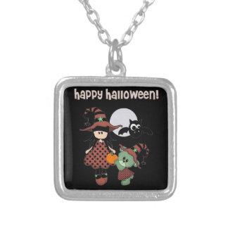 Custom Happy Halloween Necklaces