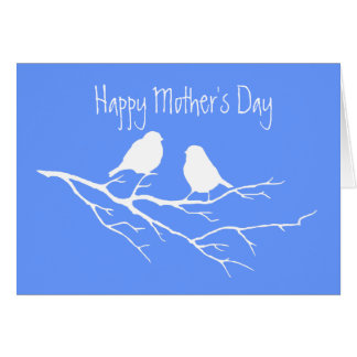 Custom Happy Mother's Day Special Friend Two Birds Card