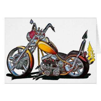 Custom Hardtail Chopper Card