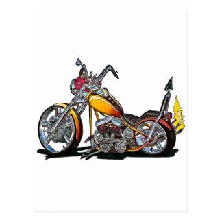 Custom Hardtail Chopper Postcard