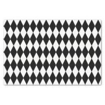 Custom Harlequin Black Diamond Tissue Paper