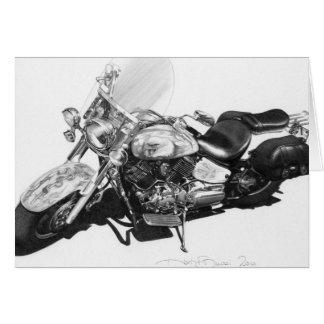Custom Harley card