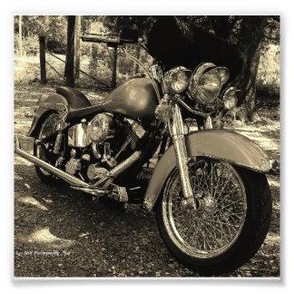 Custom Harley Photo Print