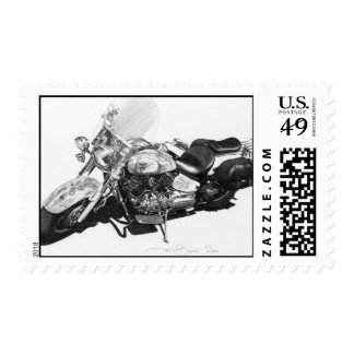 Custom Harley stamps