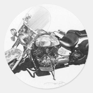 Custom Harley Sticker