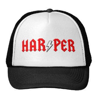 custom HARPER rock and roll shirt Hat