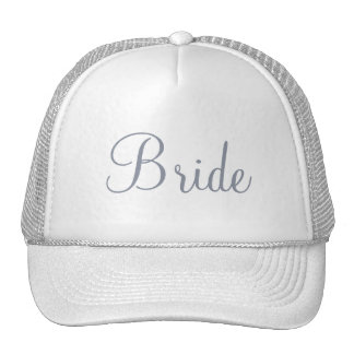 Custom Hat for the Bride, Bridesmaids or Mother Trucker Hats
