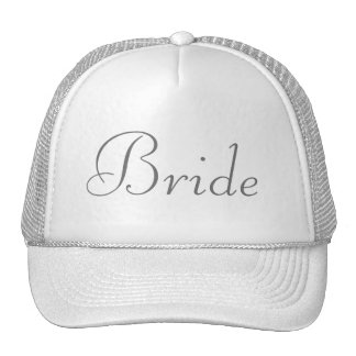 Custom Hat for the Bride, Bridesmaids or Mother Mesh Hats