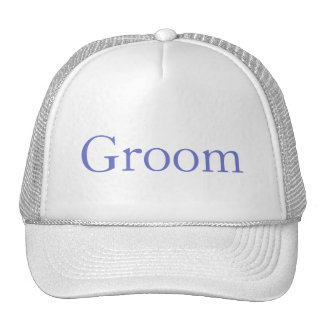 Custom Hat for the Groom, Groomsmen or Father Mesh Hat