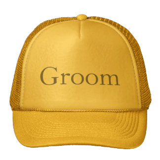 Custom Hat for the Groom, Groomsmen or Father Hats