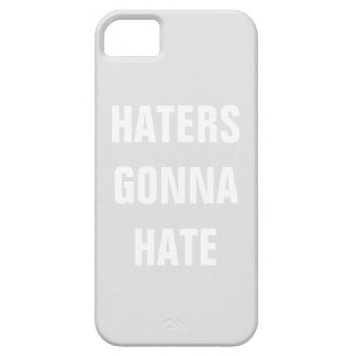 Custom Haters Gonna Hate iphone case iPhone 5 Cases