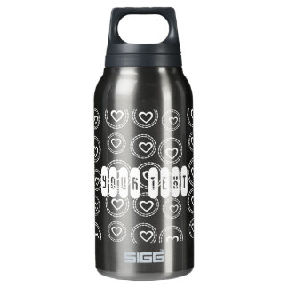 Custom Hearts Love Baby Shower Birthday Thermos Bottle