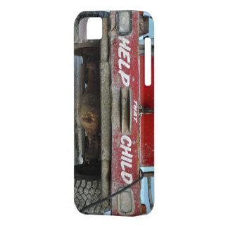 custom help child truck case iPhone 5 cover