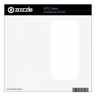 Custom Hero Skin Decal For The HTC Hero