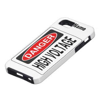 """Custom """"High Voltage"""" iPhone Case-Mate"""