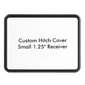 """Custom Hitch Cover Small 1.25"""" Receiver Template"""