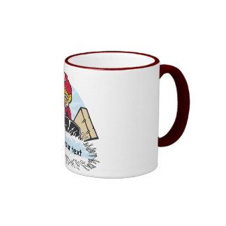 Custom Hockey Player Mug
