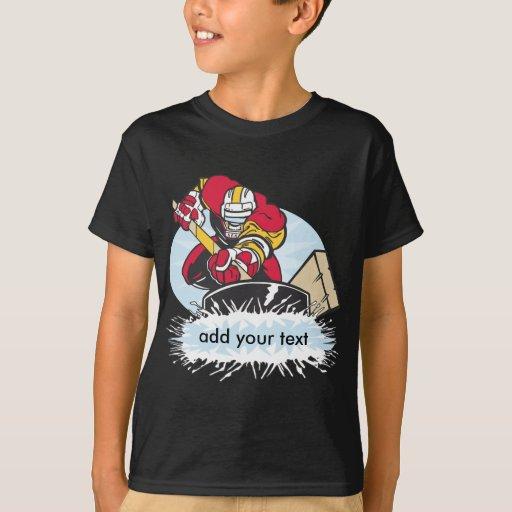 custom hockey player t shirt zazzle