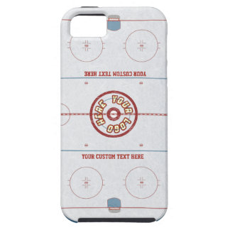 Custom Hockey Rink Case iPhone 5 Cases
