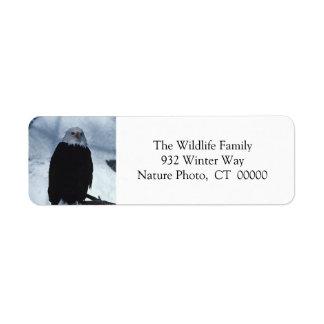 Custom Holiday Card Self Adhesive Stickers Return Address Label