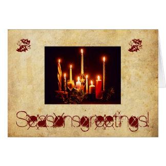 Custom Holiday Greeting Card/Matching Postage