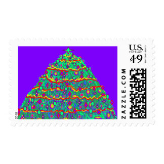 Custom Holiday Postage Stamps