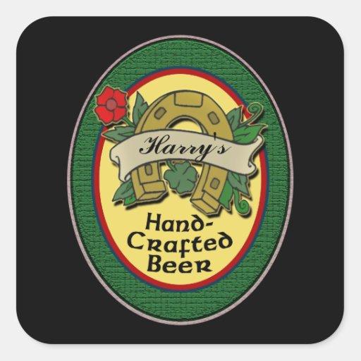 Custom Homemade Beer Labels Sticker