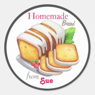 Custom Homemade Quick Bread Stickers