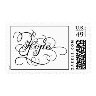 "Custom ""Hope"" Stamps"